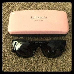 NWOT!!! Black Kate Spade Johanna Sunglasses